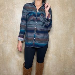 Roxy | Tribal Print Flannel